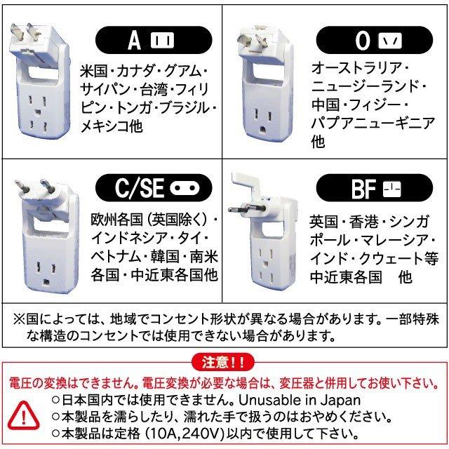 旅たっぷ ECC-301 パッケージ裏
